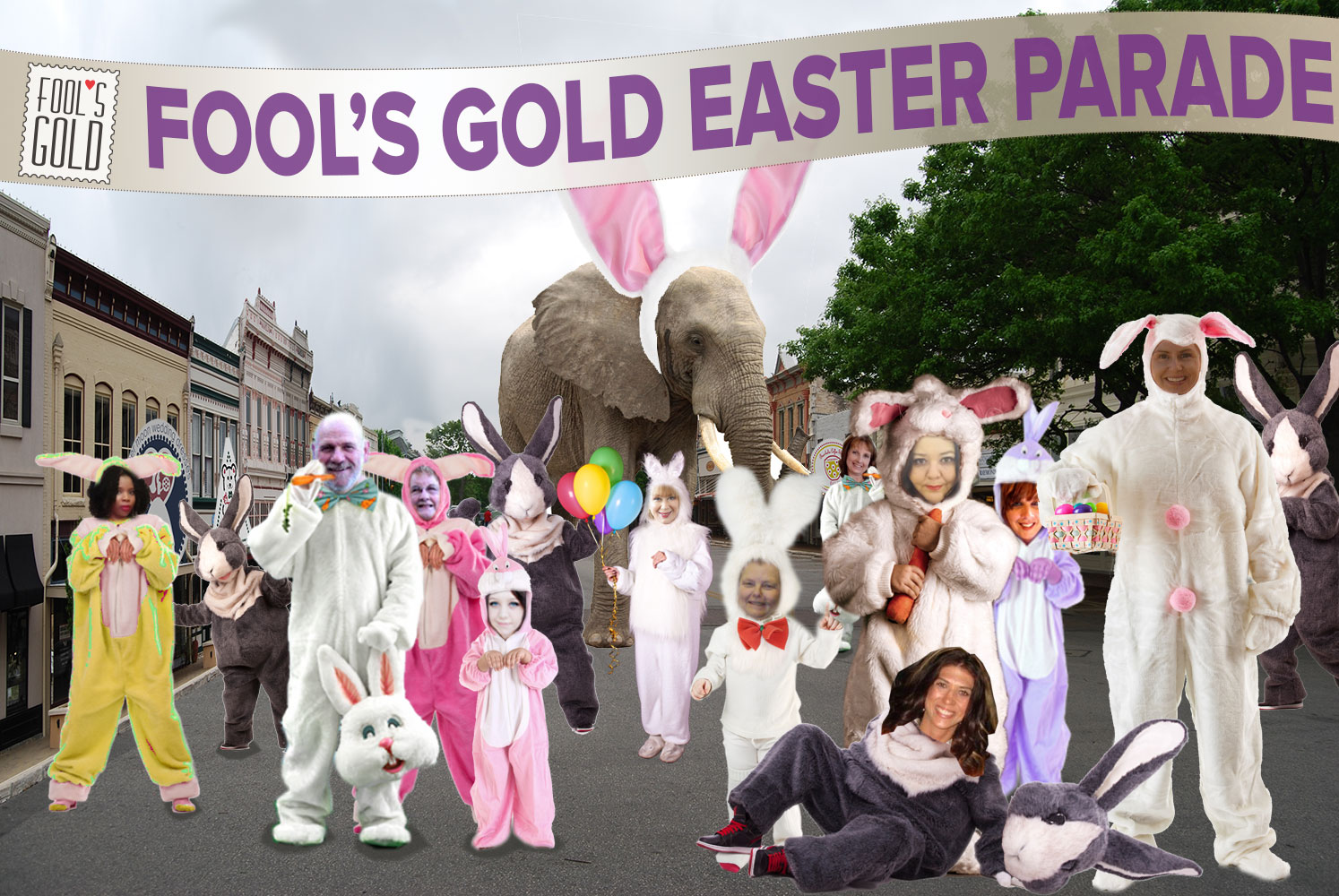 Fool's Gold Easter Bunny Parade