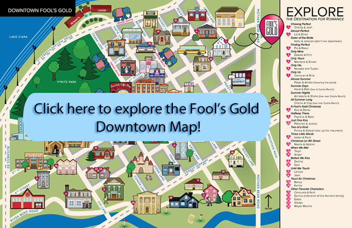 Fool's Gold Downtown Map