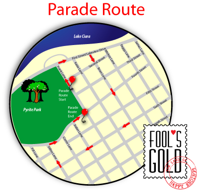 Fool's Gold parade route